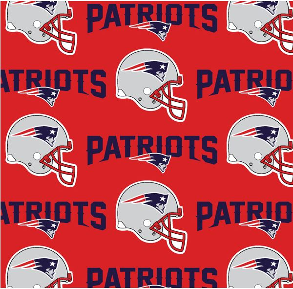 Official NFL New England Patriots Fabric