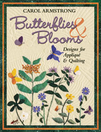 Butterflies & Blooms Designs for Applique & Quilting