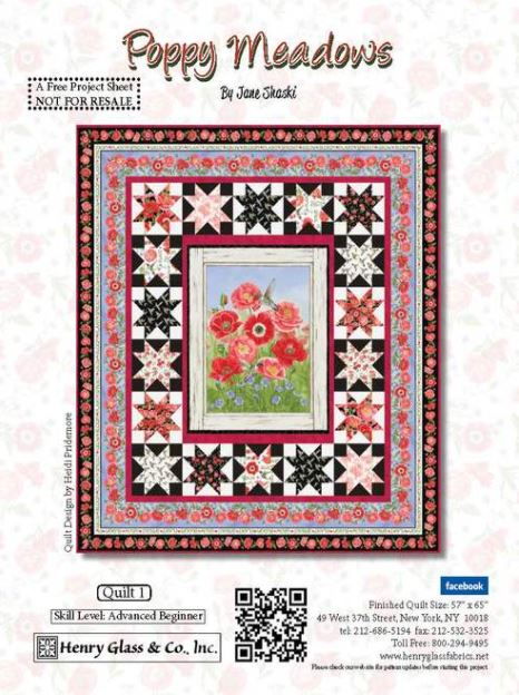 Poppy Meadows Quilt Kit