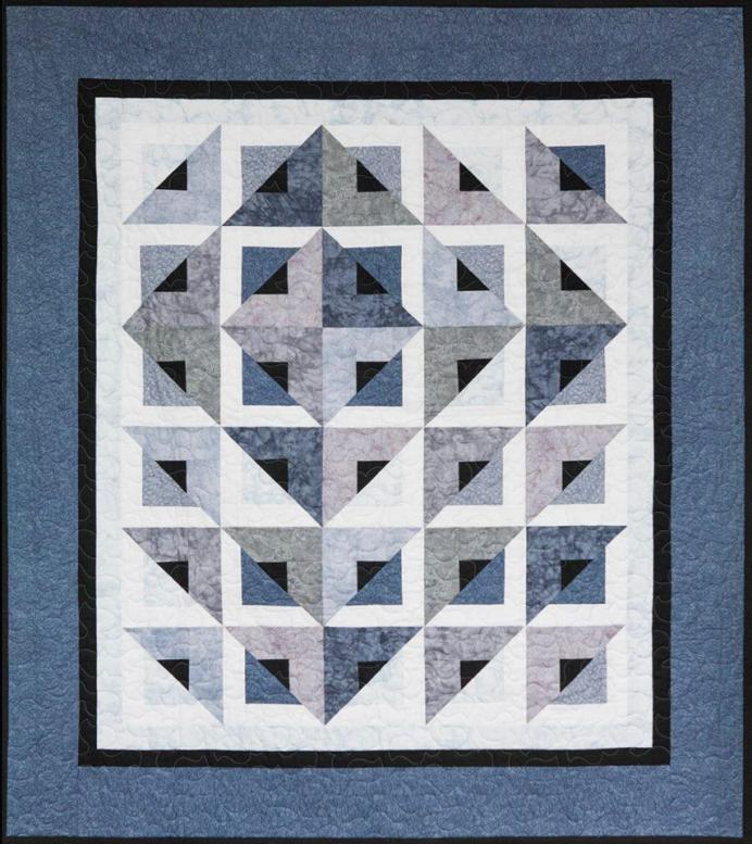 Radiant Quilt kit, Cozy Quilt Designs