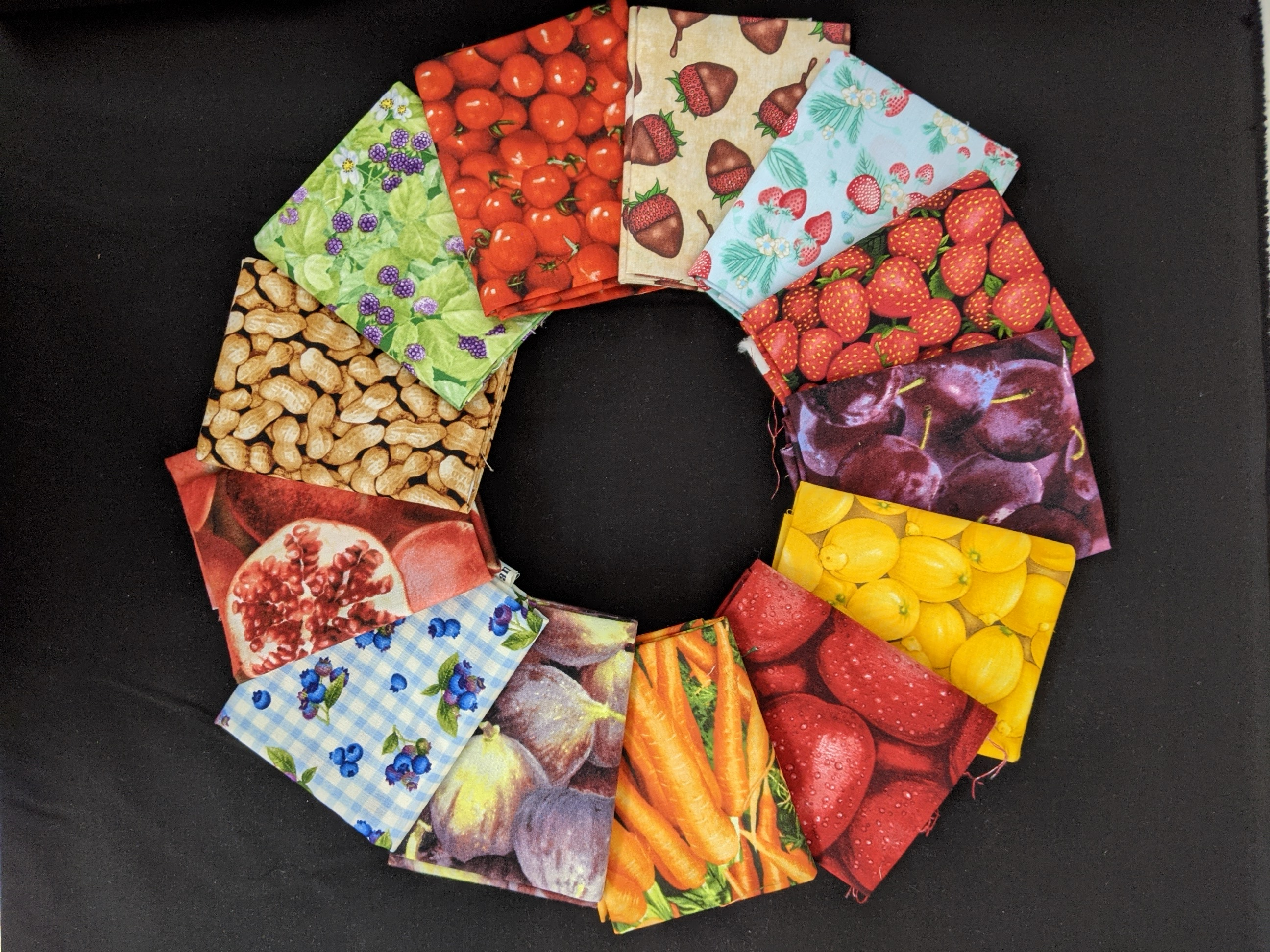 Common Colors - Food Fight fat quarter pack