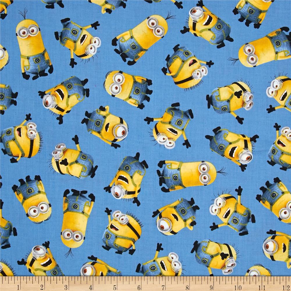 MINIONS BLUE-TOSSED