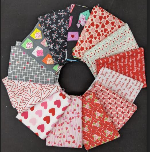 Common Colors - Be My Valentine fat quarter pack
